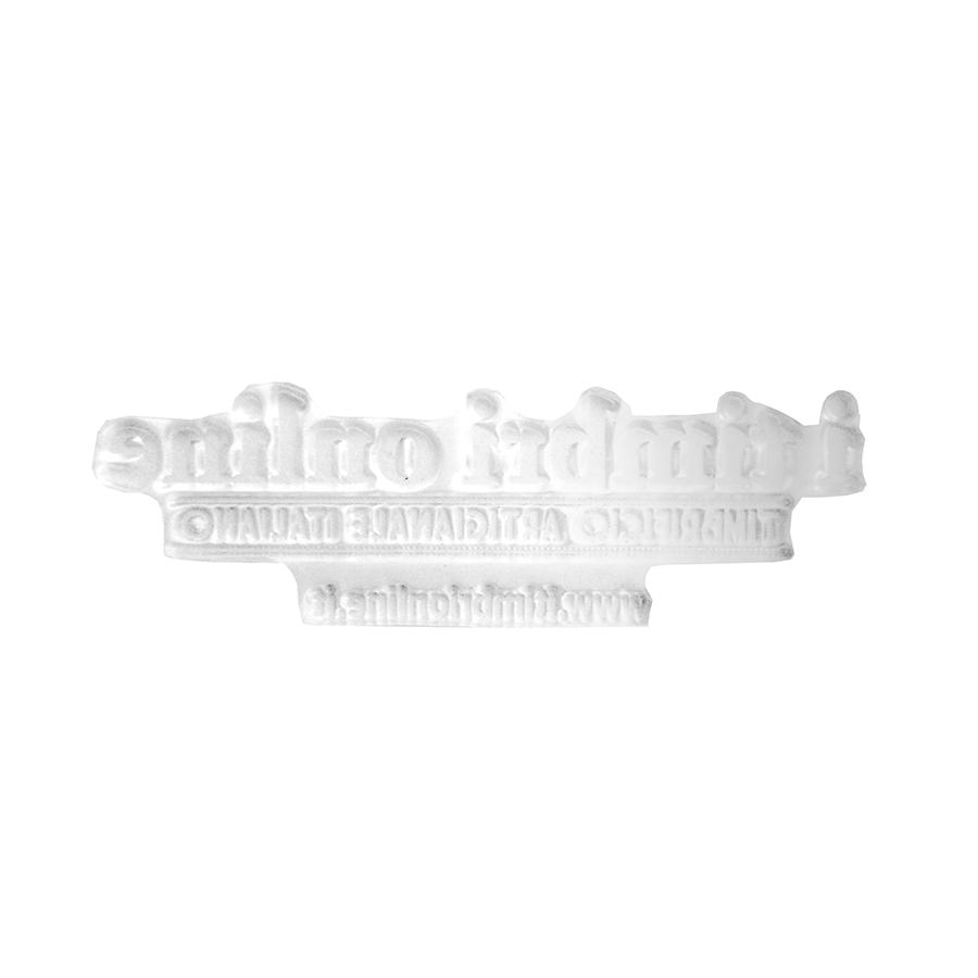 Gomma per timbro 47x18mm con bi-adesivo